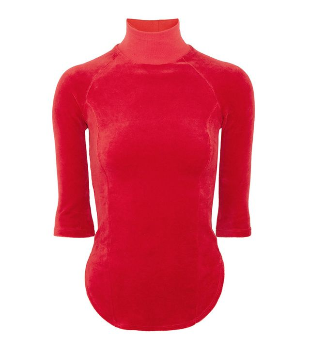 Vetements x Juicy Couture Velour Top