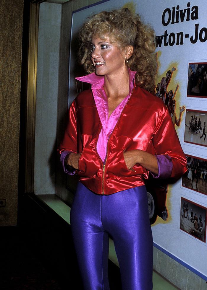 Olivia Newton-John leggings