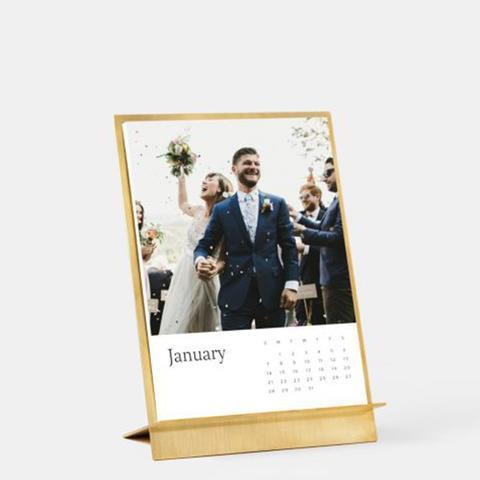 Brass Easel U0026 Calendar