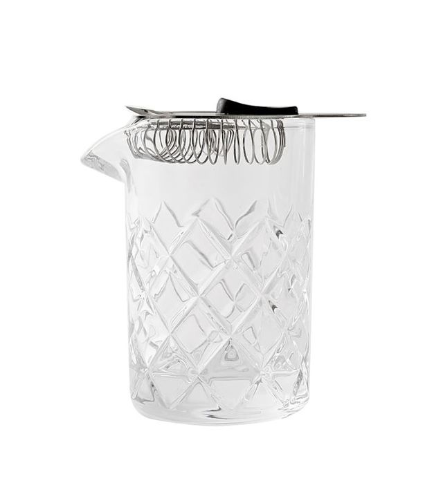 West Elm Mixing Pitcher and Strainer