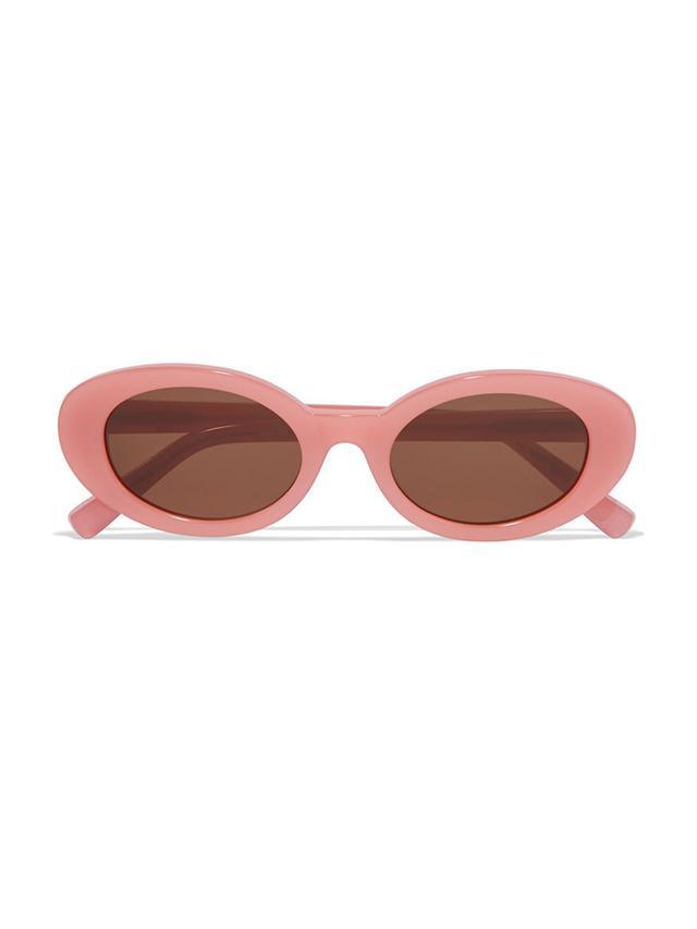 Elizabeth and James McKinley Oval-Frame Acetate Sunglasses