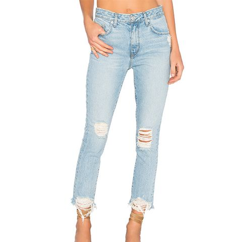 Logan High-Rise Tapered Jeans