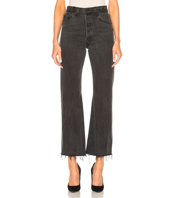 Re/Done  Leandra Ankle Crop Jeans