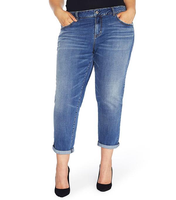 Rebel Wilson x Angels The Ryot Slim Boyfriend Jeans