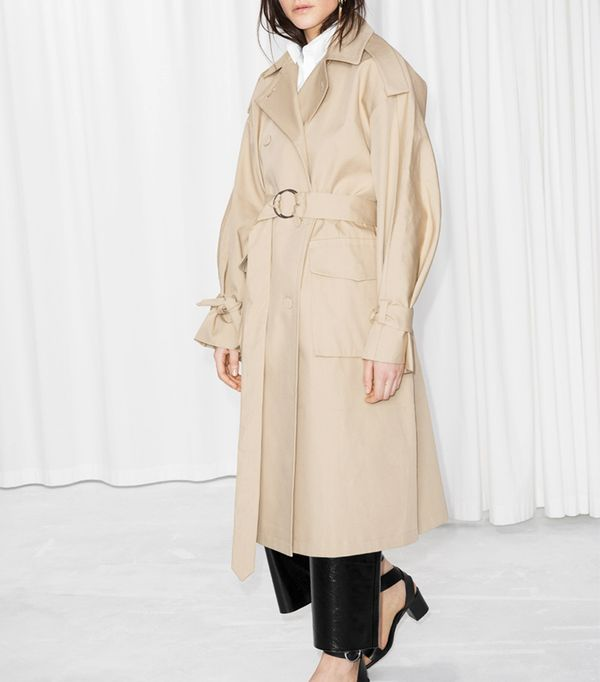 & Other Stories Oversized Trench Coat