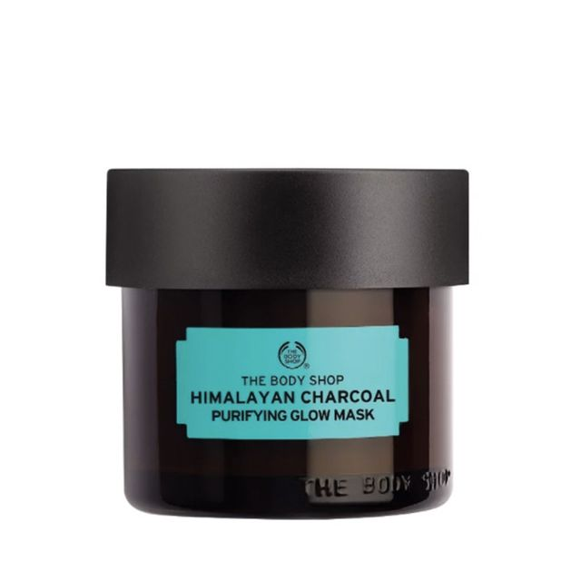 best charcoal masks:  The Body Shop Himalayan Charcoal Purifying Glow Mask