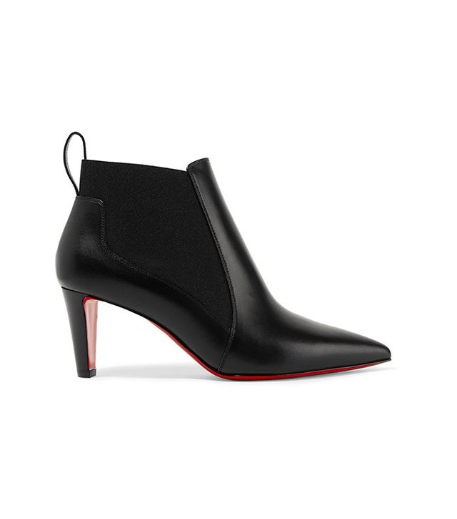 Christian Louboutin Verafusa Leather Ankle Boots