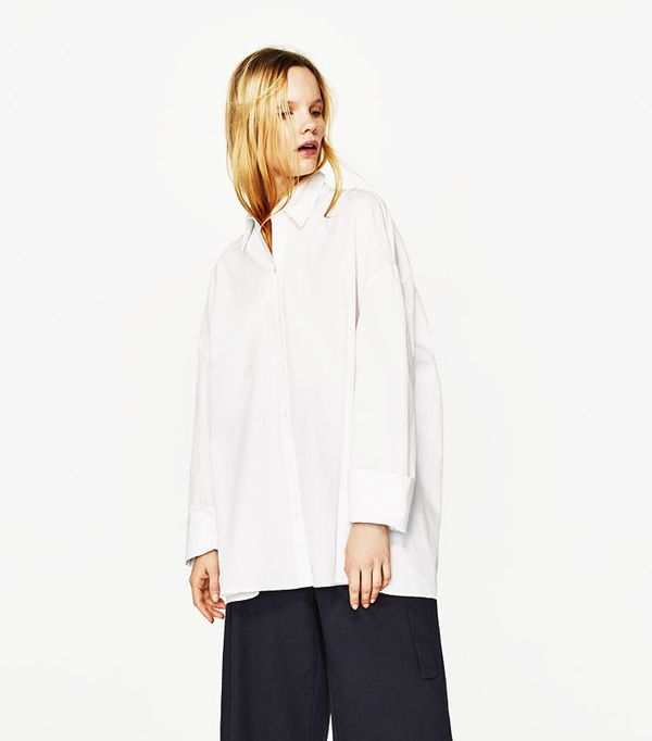 Most pinned Zara pieces: Oversized shirt