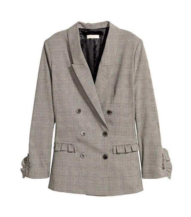 H&M Jacket With Ruffle Details