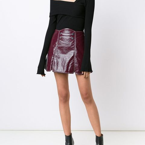 Vivienne Snap Front Skirt
