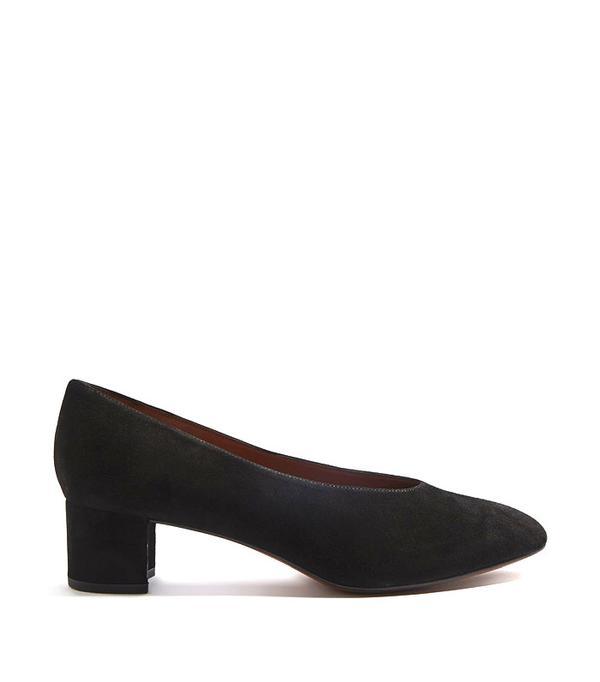 Topshop Jury Mid Heel V-Cut Shoes