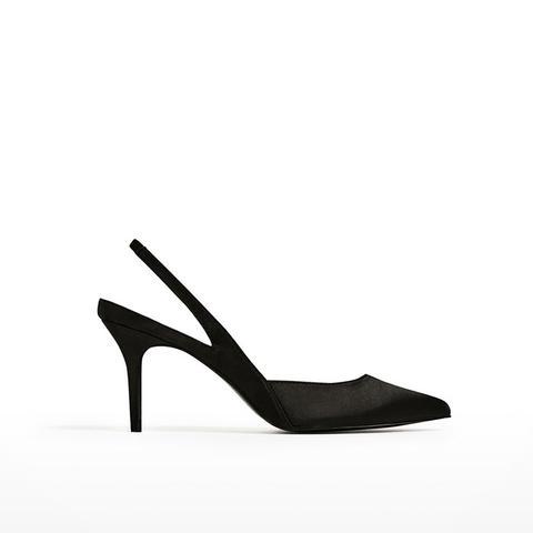 High Heel Slingback Shoes