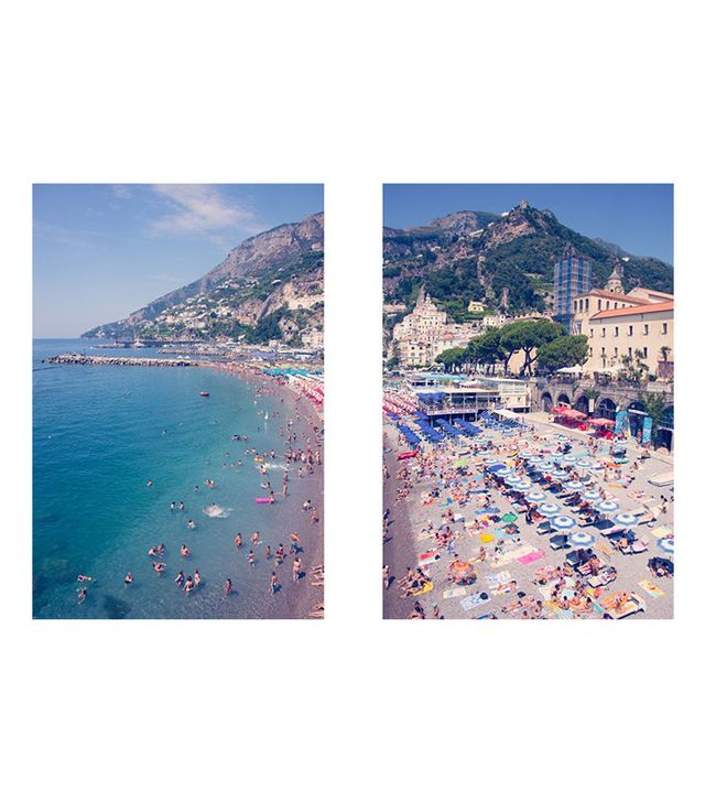 Gray Malin Amalfi Diptych Print