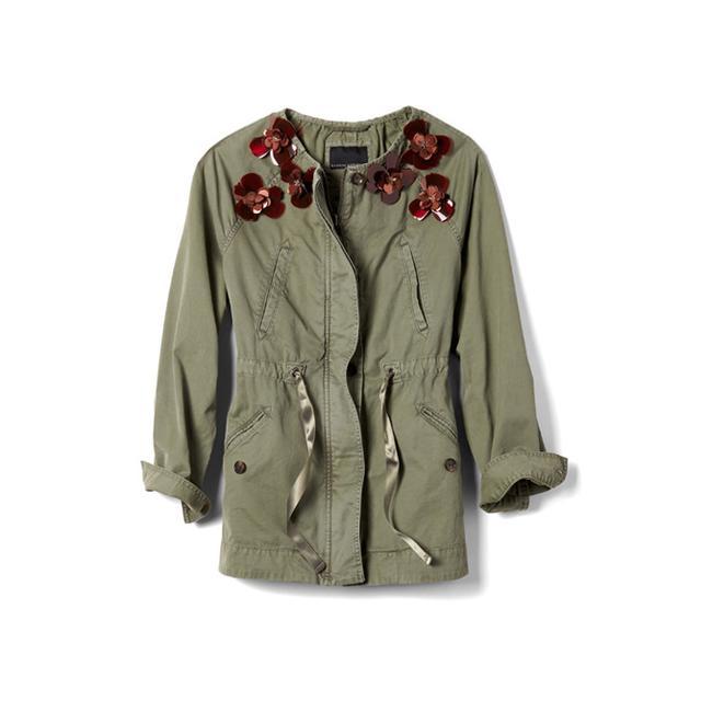 Banana Republic Embellished Military Jacket