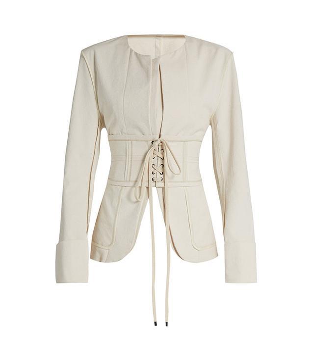 Isabel Marant Honey Corset-Waist Jacket
