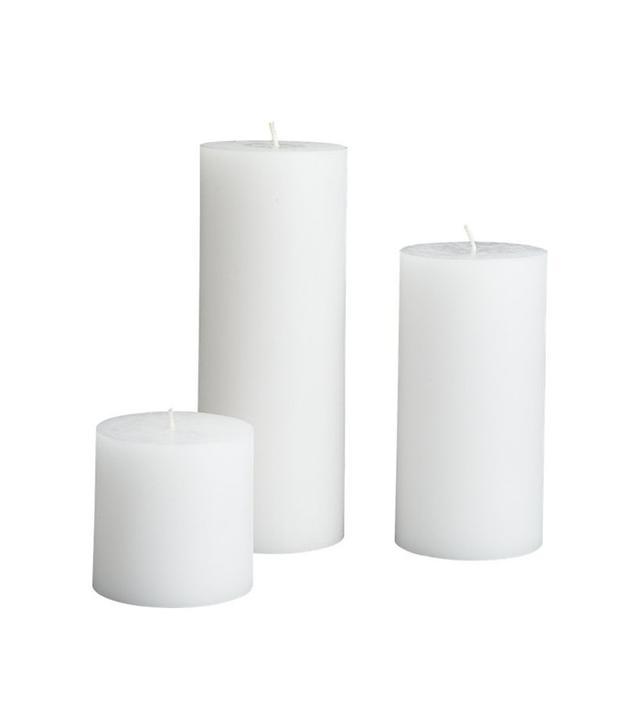 CB2 Pillar Candle