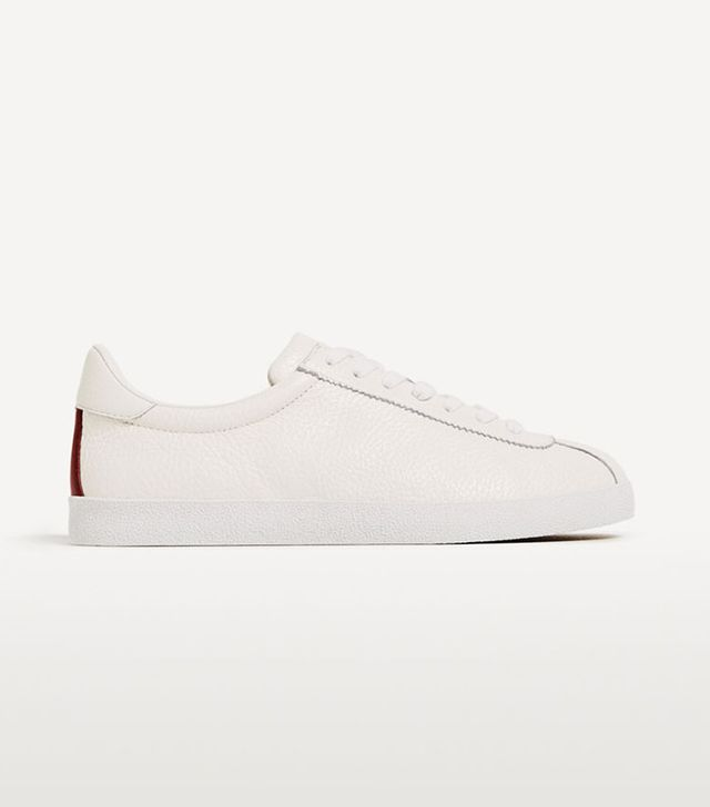 cute leather sneakers