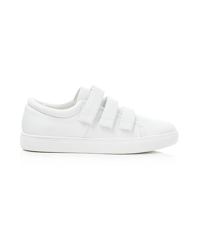 chic velcro sneakers