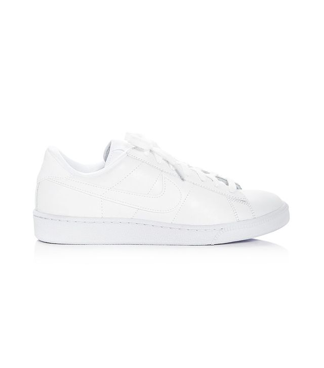 classic leather sneakers