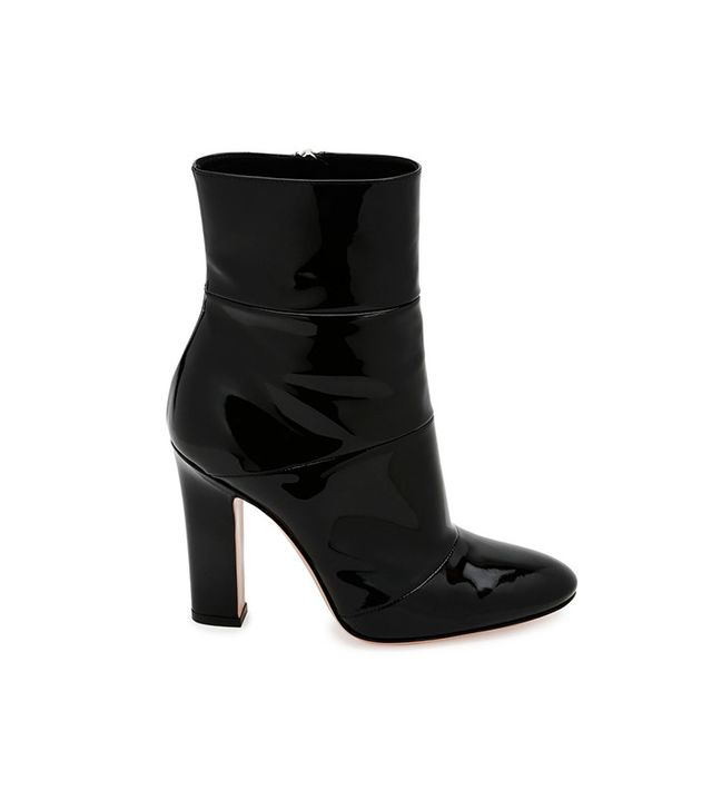Gianvito Rossi Patent Leather Ankle Boot