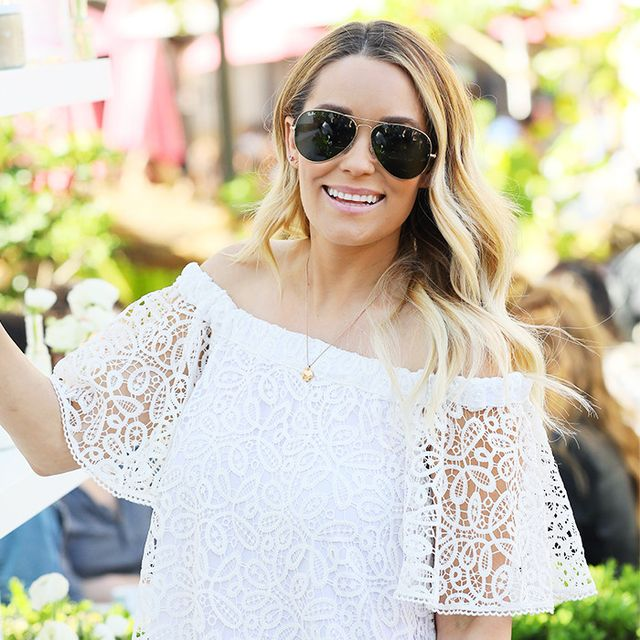 Lauren Conrad Officially Has the Freshest Maternity Style