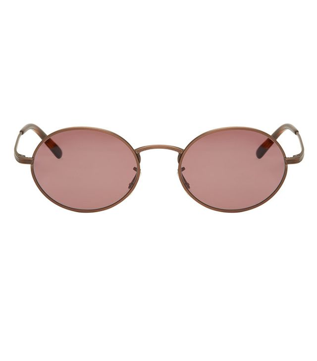 Oliver Peoples x The Row Bronze Empire Suite Sunglasses
