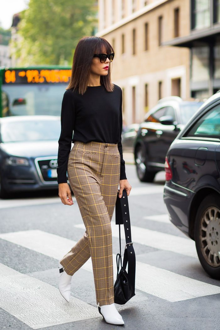 Street style black top and Balenciaga pants and boots