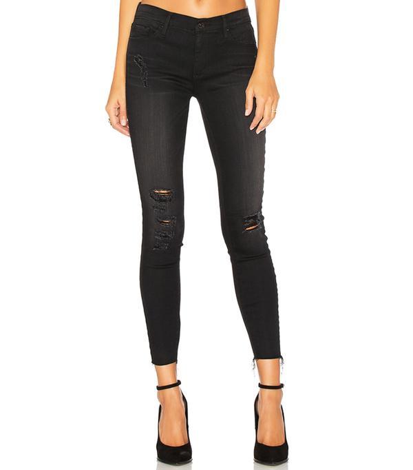 Celebrity Jeans: Black Orchid Noah Ankle Fray