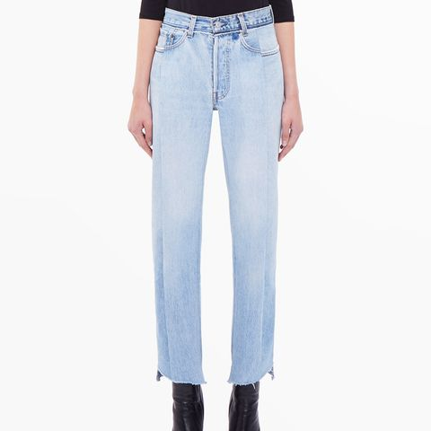 Reworked Blue Jeans