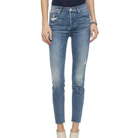 Stunner Ankle Fray Jeans