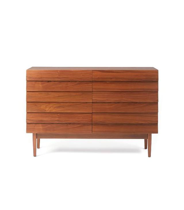 West Elm Louvered 6-Drawer Dresser
