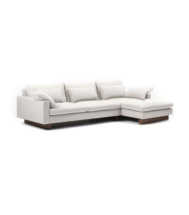West Elm Harmony 2-Piece Chaise Sectional