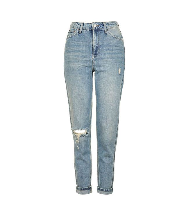 Brock Collection Distressed Slim Straight Leg Jeans
