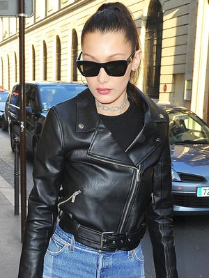 Bella Hadid Says This Is Her Uniform in Paris