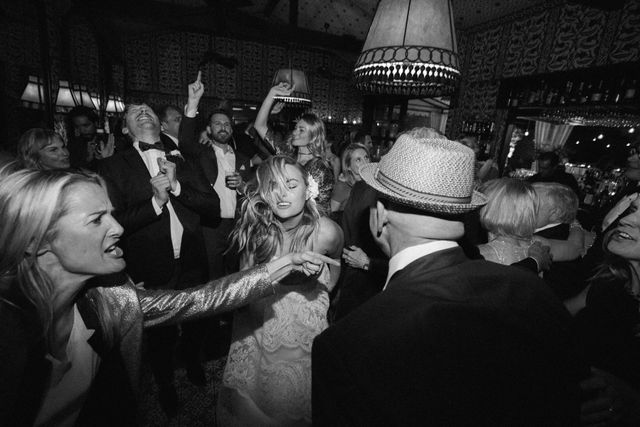 """The best part of our wedding was probably the fact that we danced like crazy—and all our guests did too!"""