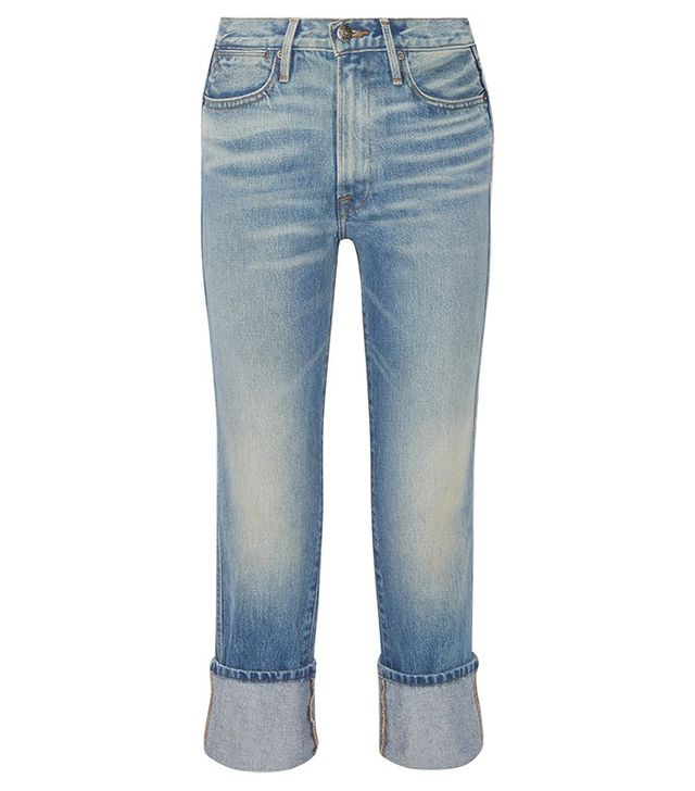Frame Rigid Re-Release Le High Straight-Leg Jeans