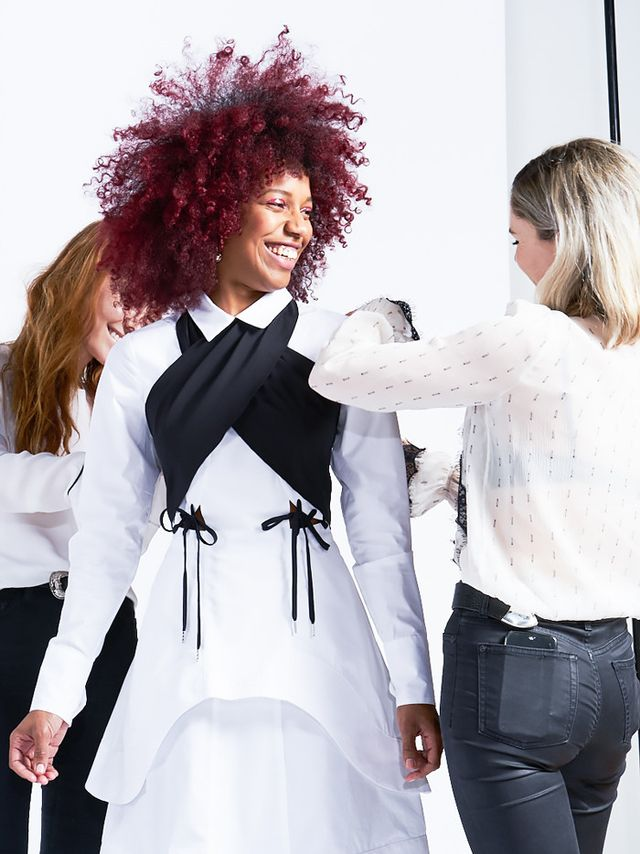 Our stylists, Dani and Emma, were responsible for styling each of the pieces on our models—in this case, the influencers we tapped to walk the show. So how did they translate the trends our...