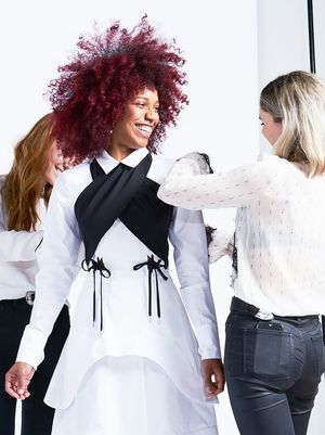 Behind the Scenes at Who What Wear's First Runway Show