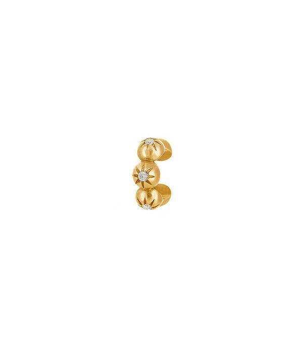 Logan Hollowell Jewelry Star Set Diamond Ear Cuff
