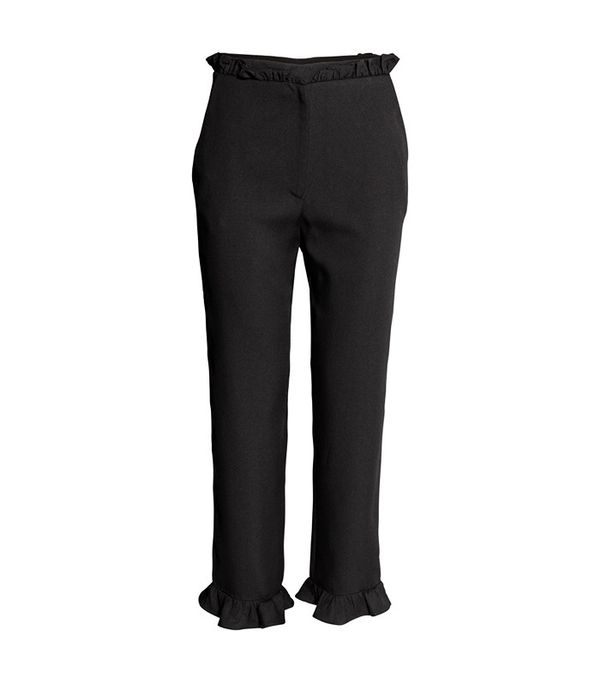 H&M Pants With Ruffles