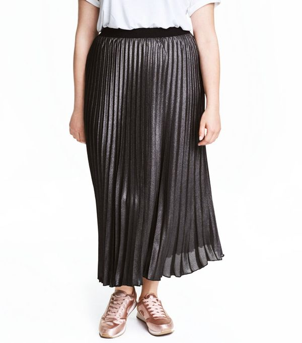 H&M+ Pleated Skirt
