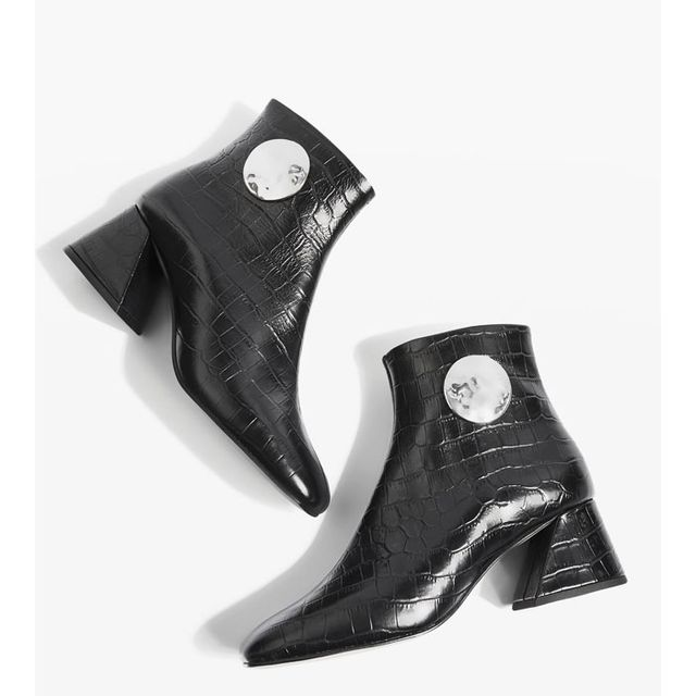Topshop Money Ankle Boots