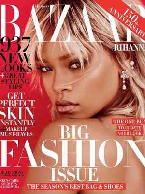 Rihanna Channels One of Our Heros in Her Latest Photo Shoot