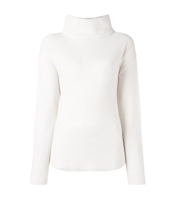 Allude Loose Turtleneck Sweater