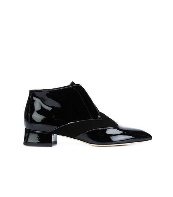 Olgana Pointed Toe Ankle Boots