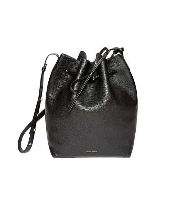 Mansur Gavriel Bucket Bag in Black