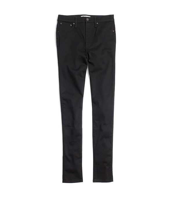 """Madewell 10"""" High-Rise Skinny Jeans in Carbondale Wash"""