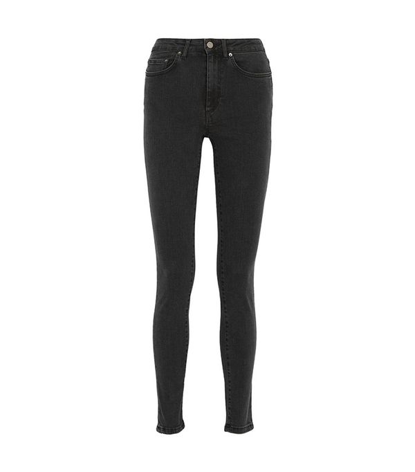 Acne Studios Pin High-Waisted Skinny Jeans
