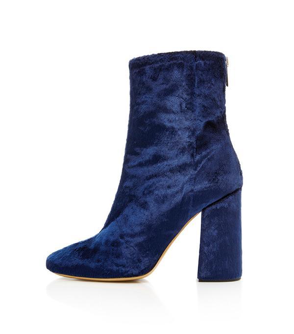 Ellery Desmond Velvet Boots