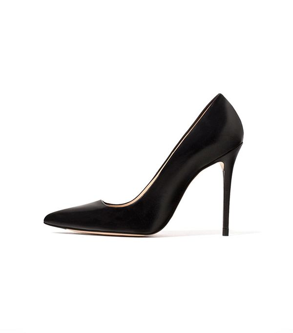 Zara Limited Edition Leather High Heel Shoes